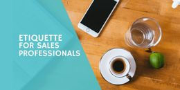Online Chat Etiquette for Sales Professionals