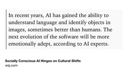 Dr. Rana el Kaliouby on Ethical Artificial Intelligence ➚ via @WSJ