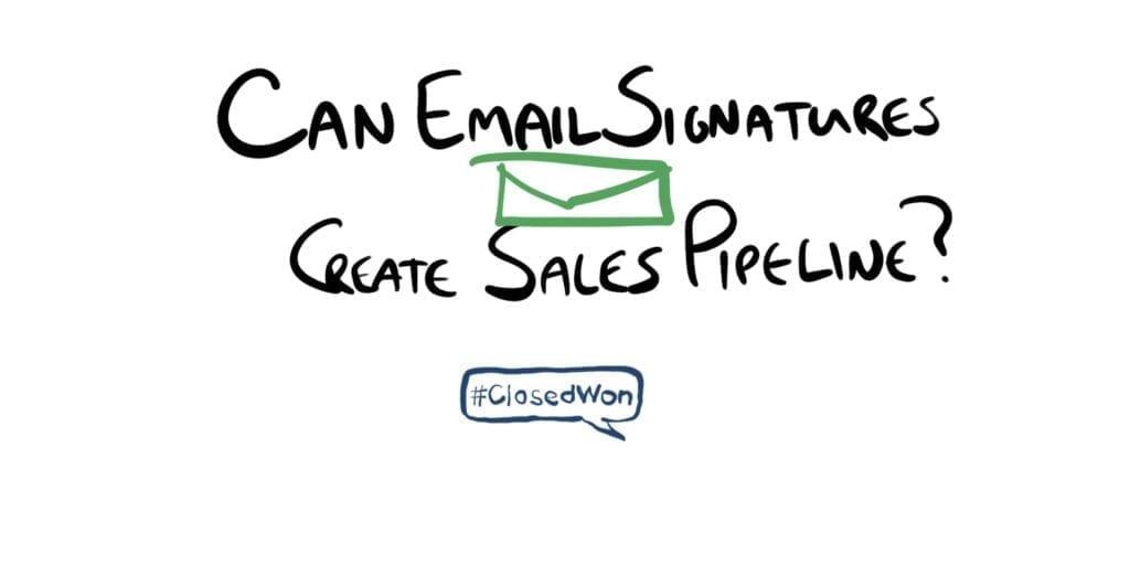 email signatures create pipeline